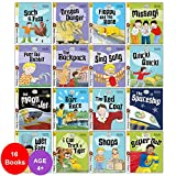 Biff, Chip and Kipper Level Stage 2 Read with Oxford: 4+: 16 Books Collection Set