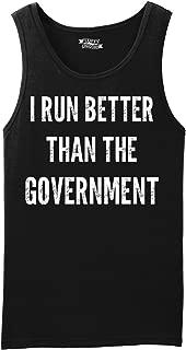 Comical Shirt Men's I Run Better Than The Government Tank Top