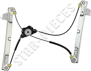 Mecanismo elevalunas el/éctrico Delantero Izquierdo del Conductor para Ford Fiesta 3 Puertas de 2001 a 2008 STARKIT PERFORMANCE