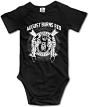 August Burns Red Metalcore Baby Onesie Toddler Clothes Funny