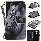 Ooboom® ASUS Zenfone 3 5.2'(ZE520KL) Coque Faux Cuir Flip Housse Étui Cover Case Wallet Pochette...