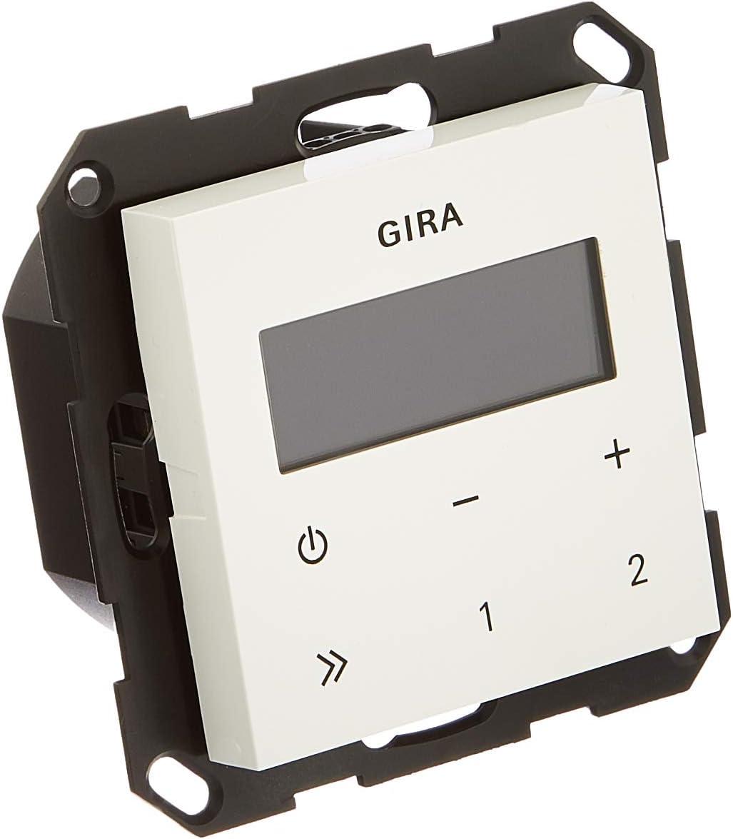 Gira 20 Unterputz Radio RDS ohne Lautsprecher ST20, reinweiß ...