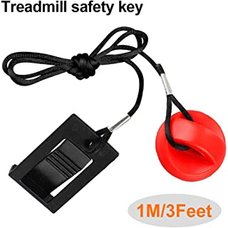Treadmill Universal Magnet Safety Key for All NordicTrack, Proform, Image, Weslo, Reebok, Epic, Golds Gym, Freemotion, and Healthrider Treadmills