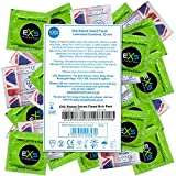 EXS 3-in-1 Extreme - 100 préservatifs (perlés, nervurés, anatomiques)