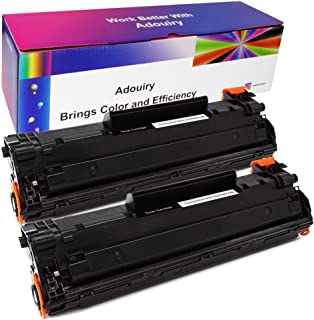 Adouiry Compatible Toner Cartridge Replacement for Canon 128 Laser Toner Cartridge, 2 Pack CRG128 Black Toner Cartridge for Canon ImageClass D550 D530 MF4412 MF4580dn
