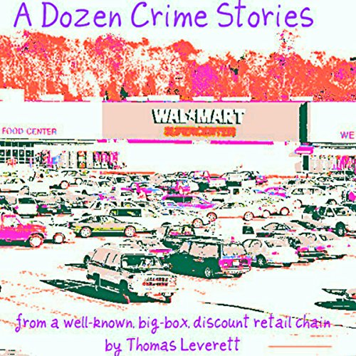 A Dozen Crime Stories audiobook cover art