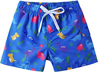 479ac08583871 Freshhoodies Kids Boys Funny Short Swim Trunks with Mesh Lining Waterproof Board  Shorts 3D Printed Beach