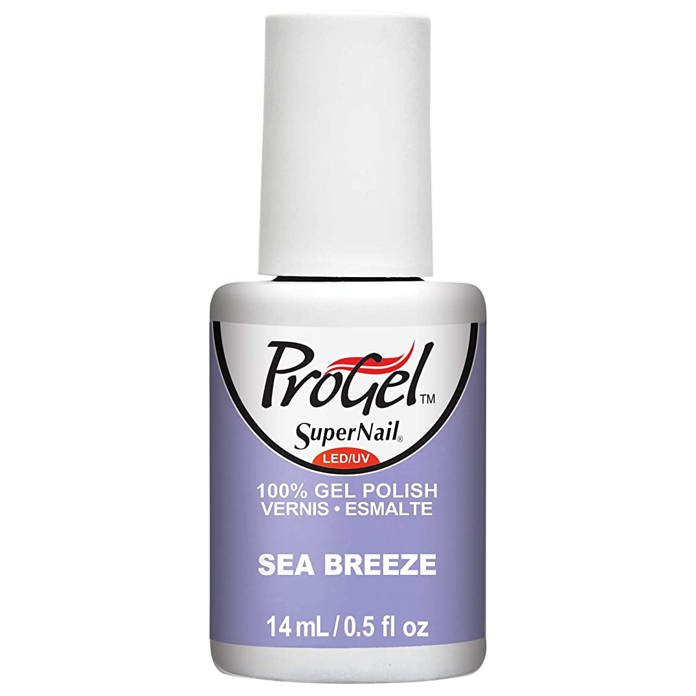 好きであるパントリーメンダシティSuperNail ProGel Gel Polish - Sea Breeze - 0.5oz / 14ml