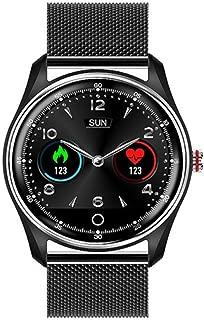 GLO BUY MX9 ECG + PPG Smart Watch Touch Screen HRV Report Heart Rate Blood Pressure IP68 Waterproof Swimming Smartwatch Men and Women