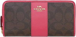 [コーチ] COACH 財布 (長財布) F54630 ブラウン×ストロベリー IMLOQ シグネチャー PVC 長財布 レディース [アウトレット品] [ブランド] [並行輸入品]