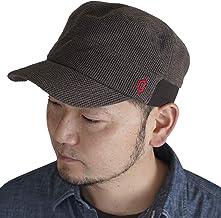 (クレ) clef ワッフル リブ スウェット ワークキャップ 帽子 大きいサイズ キャップ