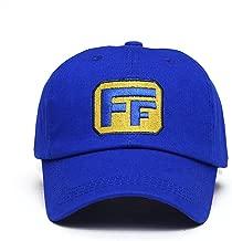 XCOSER Fix It Felix Hat Embroidered Blue Baseball Hat Adjustable Cap