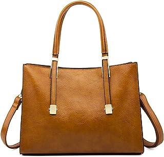 BUKESIYI Damen Tasche Umhängetasche Handtasche Frauen Klein Schultertasche Weekender Lack PU Leder CCDE77136