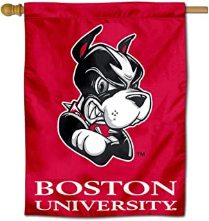College Flags and Banners Co. Boston University Terriers House Flag