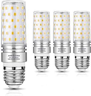 AMBOTHER E27 LED Kaltweiß, 16W 1600LM LED Brine E27 statt 120W Halogenlampe, 6000K Mais Glühbirne E27 Maiskolben Lampen En...