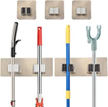Yotako Broom mop Holder,8 Pcs Mop and Broom Hanger Self Adhesive Wall Mount Storage Rack Storage and Organization for Your...