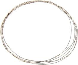 SHENGYUAN 1 m de Alambre de Metal Hojas de Sierra de 0,26/0,38 mm Diamante Emery Jade Metal del Corte del Vidrio de Bricolaje Acero de Alta Velocidad (Size : 0point26mm)