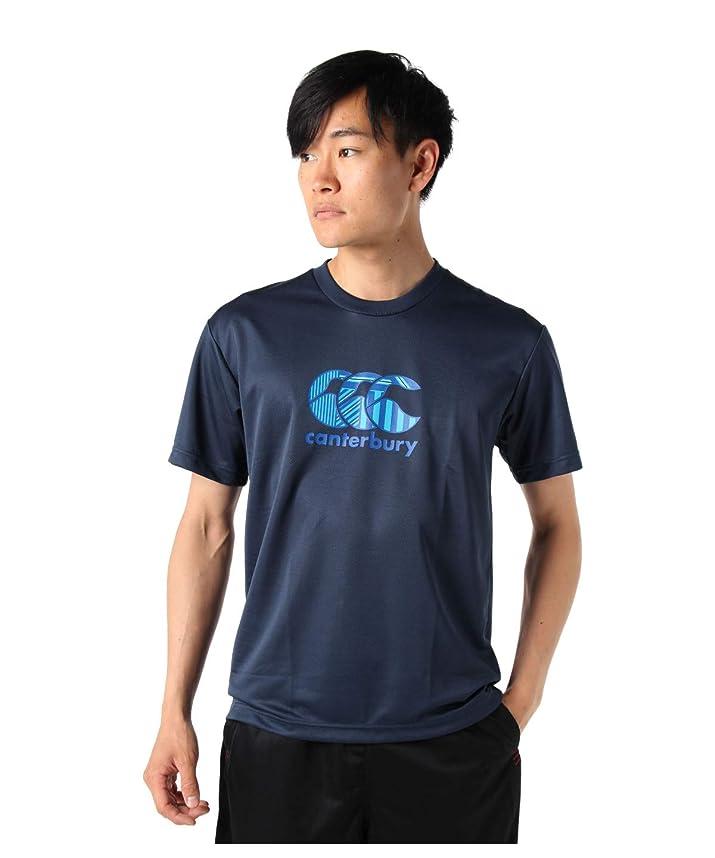 台風冷蔵する所得カンタベリー スポーツウェア 半袖 メンズ BIGロゴプリントフレックス機能Tシャツ RA39364 29 M