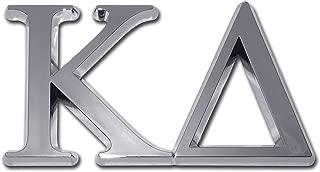 Elektroplate Kappa Delta Sorority Chrome Auto Emblem