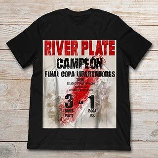 Christmas River Plate Campeon Final Copa Libertadores 2018 Fashion T-Shirt For Unisex
