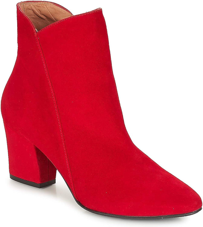 Fericelli JORDENONE Stiefelletten Stiefel Damen Rot Low Stiefel