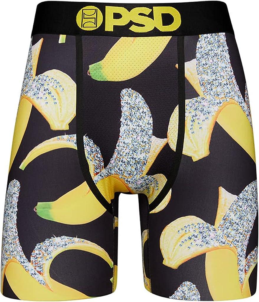 PSD Men's Brief (Black/Iced Banana