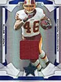 LADELL BETTS 2008 DONRUSS 'CERTIFIED MATERIALS' FOOTBALL CARD GAME WORN JERSEY CARD #100 SERIAL NUMBER #025/100 (WASHINGTON REDSKINS) FREE SHIPPING AND TRACKING