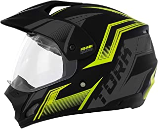 Pro Tork Capacete Th1 Vision New Adventure 58 Preto/Amarelo