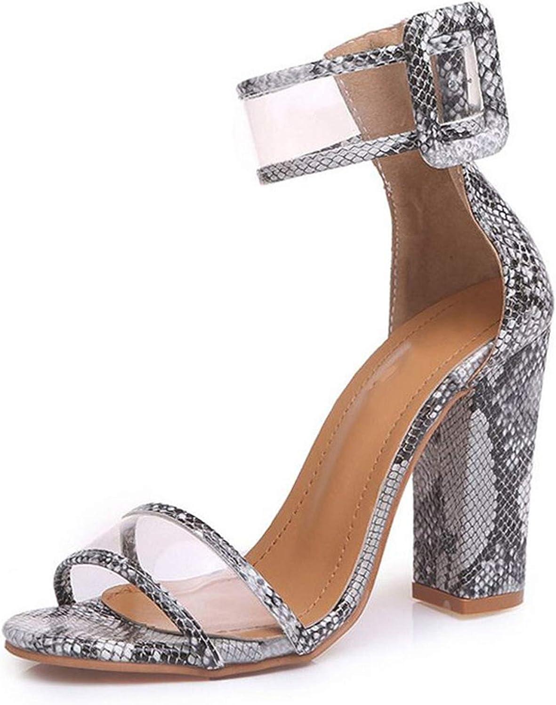 Meiguiyuan Woman Sandals gold Metallic Clear Strap High Heels Fashion Transparent Summer shoes Women