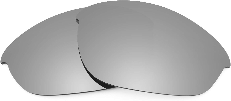 Revant Verres de Rechange pour Oakley Half Jacket (Coupe Asiatique) Titane Mirrorshield - Non Polarisés