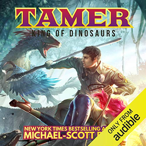 Couverture de Tamer: King of Dinosaurs