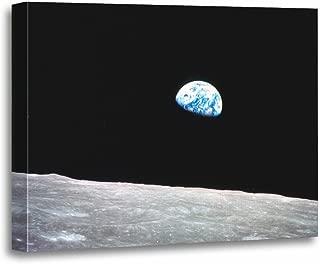 Best earthrise canvas print Reviews