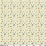 ANRO Tischdecke Wachstuch abwaschbar Wachstuchtischdecke Wachstischdecke Kinder Geburtstag Tiere Hellgrün 100x140cm - 8