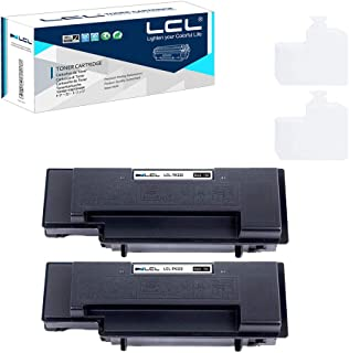 LCL Compatible Toner Cartridge Replacement for Kyocera TK322 TK-322 1T02F90US0 Mita FS-3900DN FS-3900DTN FS-4000DN FS-4000DTN (2-Pack Black)
