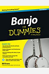 Banjo For Dummies: Book + Online Video and Audio Instruction Paperback