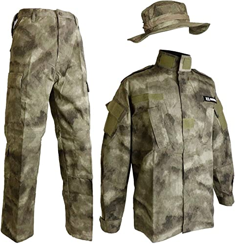 A-TAC Real Farbe BDU boonie Hut auf und ab und stellen st ische Tarnung Tarnung Kampfanzug S