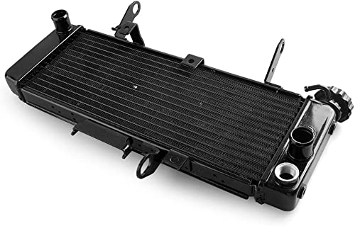 2021 Mallofusa Motorcycle outlet sale Aluminum Radiator Cooling Cooler Compatible for Suzuki SV650 2003 high quality 2004 2005 2006 2007 Black outlet sale