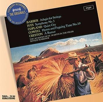 Barber/Ives/Copland: Orchestral Works