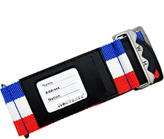 Wellhouse Luggage Strap Suitcase Belt WH-0050 (French Flag Color)
