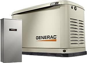 Generac Guardian 7030 9/8 KW Air-Cooled Standby Generator, Aluminum