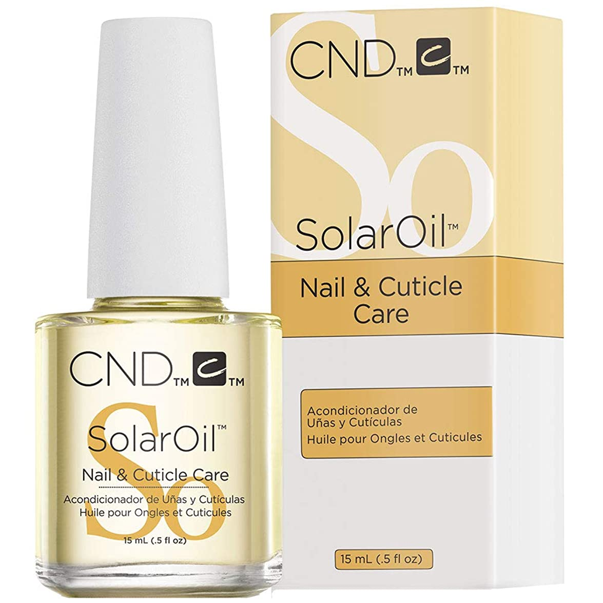 できる引っ張るツールCND solar Oil nail and cuticle conditioner 15ml