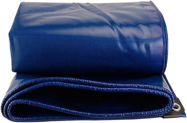 ターポリントラック肥厚ターポリンキャンバス三輪車雨日焼け止めナイフ掻き布、利用可能なサイズの様々な (Size : 5mX5m)