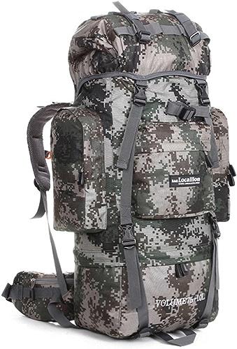 Sac d'alpinisme en plein air grande capacité multifonctionnelle Durable Trekking sac à dos unisexe imperméable camping voyage sac à dos
