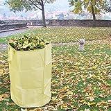 Bolsa reutilizable para hojas de jardín, hojas de jardín, para...