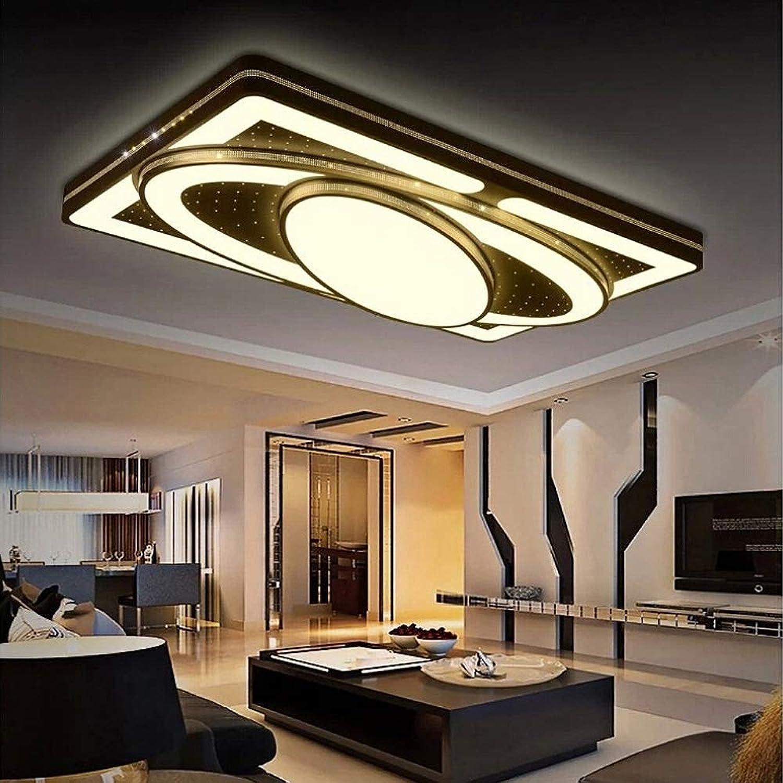 MIWOOHO 78W LED Modern Deckenleuchte Warmwei Deckenlampe Kreative Energiesparlampe Beleuchtung Flur Wohnzimmer Schlafzimmer Küche [Energieklasse A++]