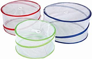 Stansport Pop-Up Mesh Food Covers (Set of 3), 15