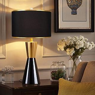 Lampe de Table Lampe de chambre à coucher post-moderne noir / blanc décoration lampe de chevet de chambre à coucher salon ...