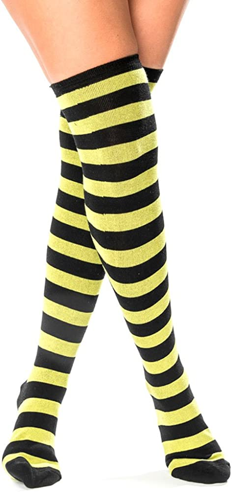 Pairformance Knee High Extra Long Kansas City Mall S Warmers Striped Opaque Socks Super beauty product restock quality top