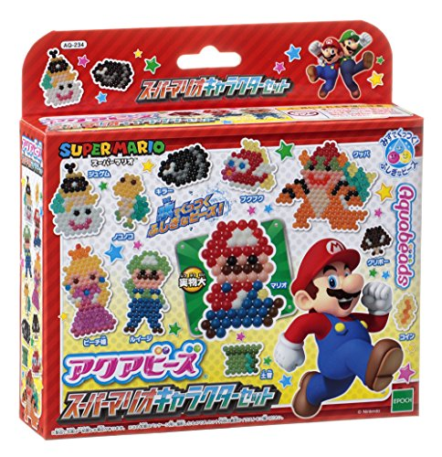 Aqua beads Super Mario character set