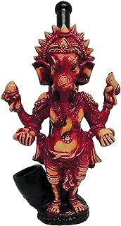 Ganesha Elephant Smoking Pipe - Handmade Tobacco Pipe - Hand Pipe - Smoking Bowl - Ganesh - Spiritual Gifts - Hindu God - Indian God - Deity